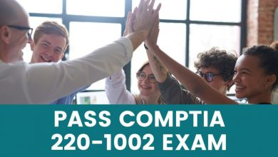 Get Your First Job By Passing CompTIA 220-1002 with Exam Dumps