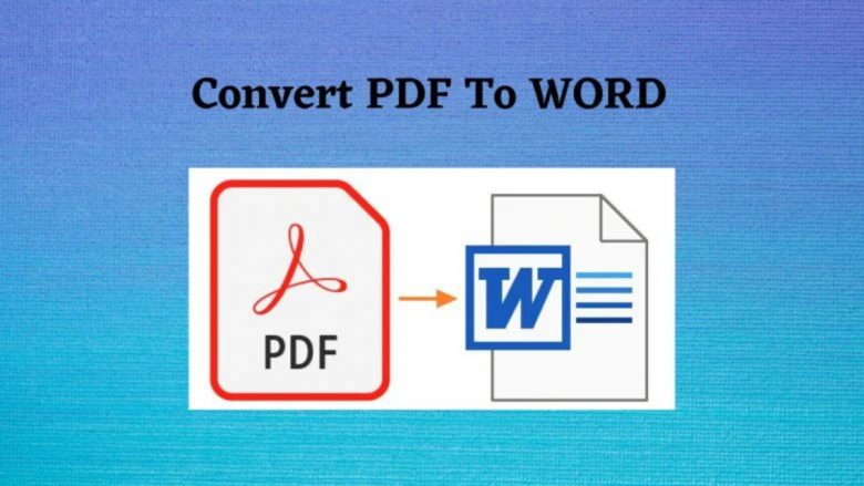 PDF to Word Converter online for free