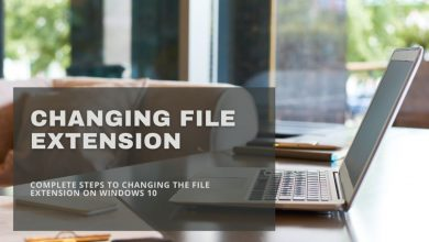 Changing File Extension in Windows 10 Correctly