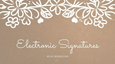 Make Your Life and Workflow Simpler by Electronic Signatures