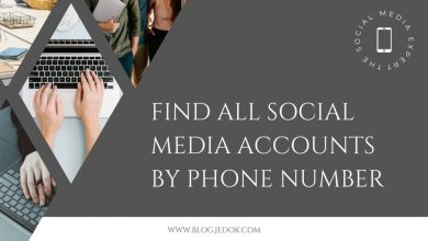 Find All Social Media Accounts by Phone Number