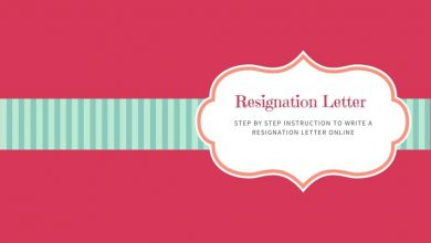 Step by Step Instruction to Write a Resignation Letter Online
